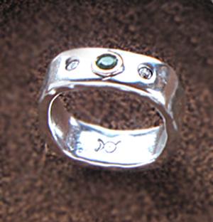 green beryl ring